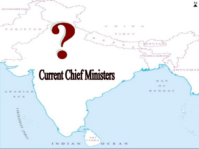 Chief ministers of india 2013