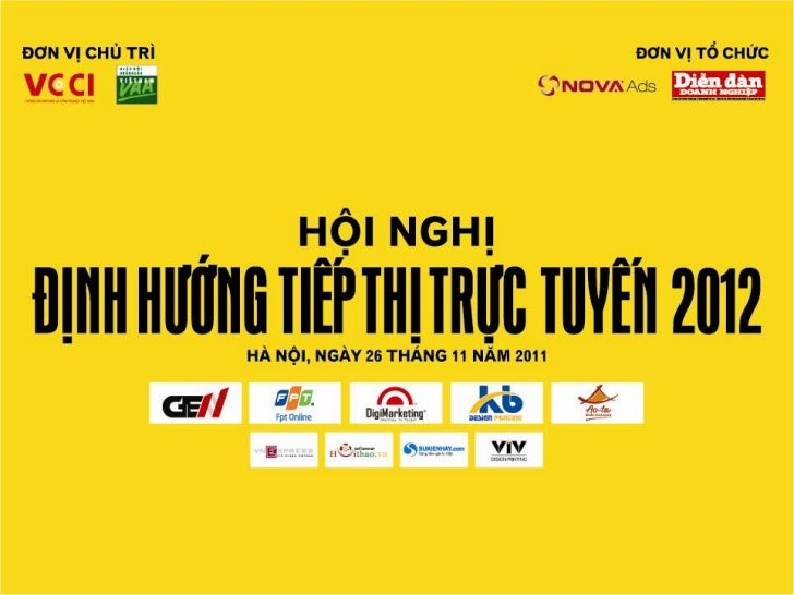 Chiến lược xây dựng Thương hiệu     qua Mạng xã hội 2012  Diễn giả: bà Lê Thúy Hạnh            Giám đốc Digimarketing