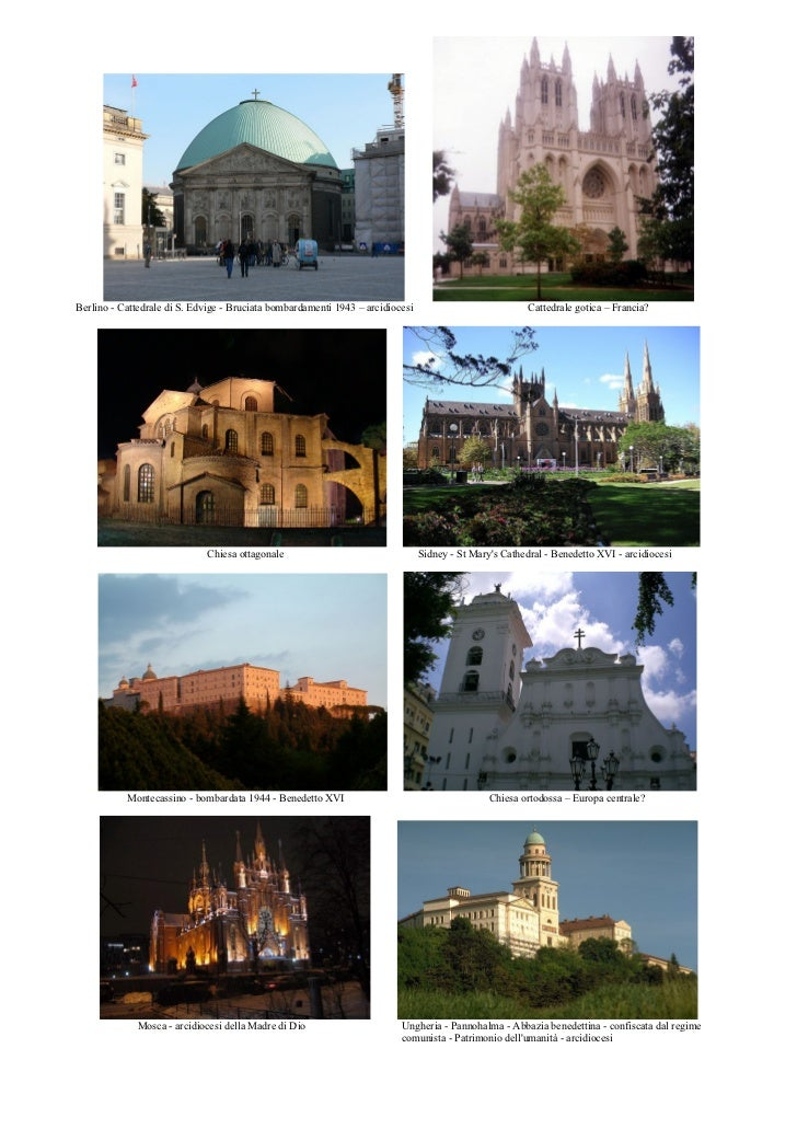 Berlino - Cattedrale di S. Edvige - Bruciata bombardamenti 1943 – arcidiocesi                            Cattedrale gotica...