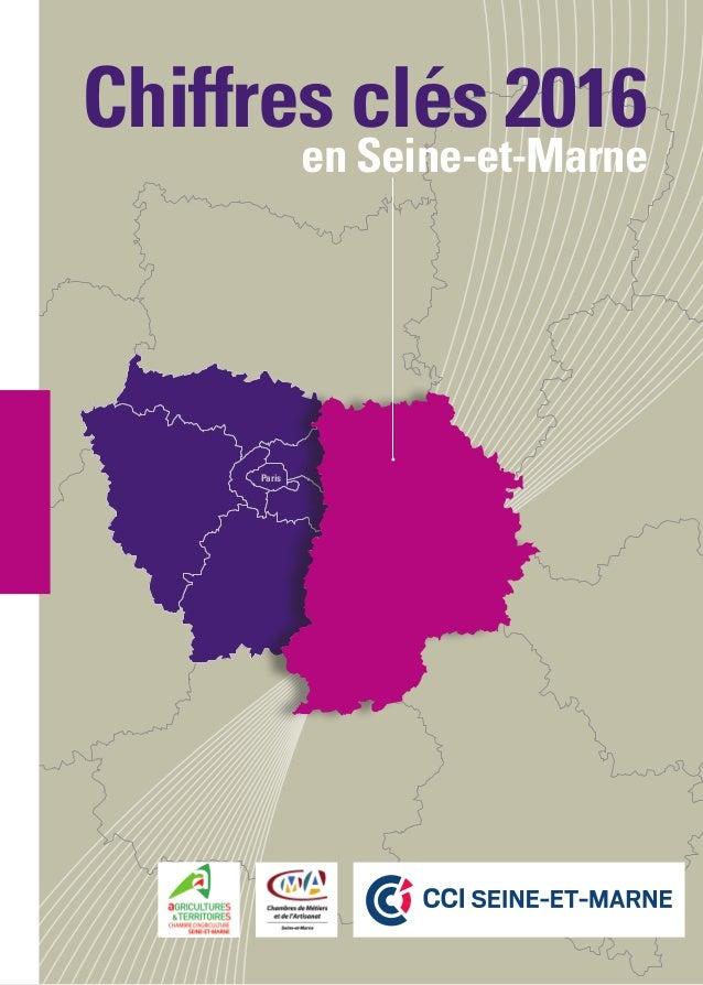 Paris Chiffres clés 2016 en Seine-et-Marne