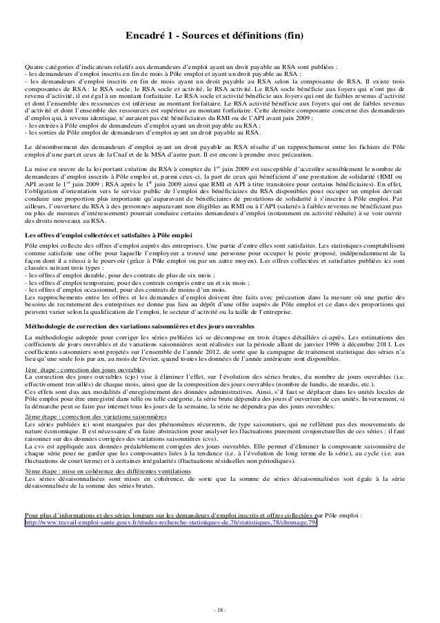 DARES : les chiffres du chômage au mois de septembre 2012