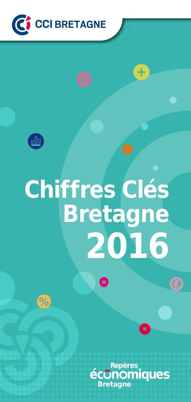 Chiffres Clés Bretagne 2016 Bretagne