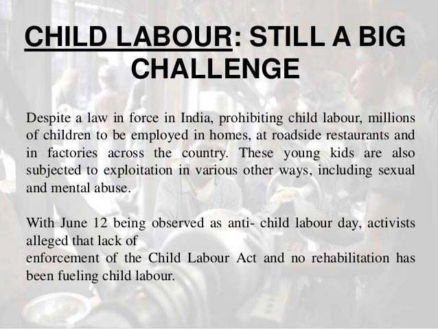 essays on child labour