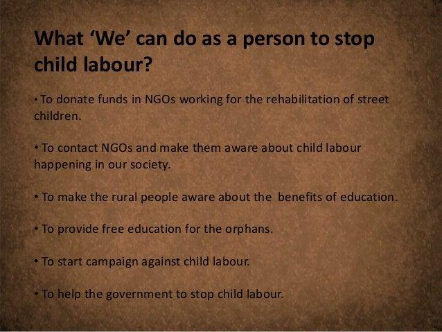 Child labour presentation