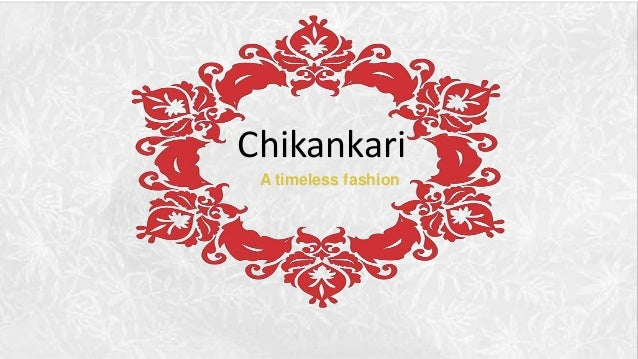 Chikankari The Traditional Embroidery Style From Lucknow India