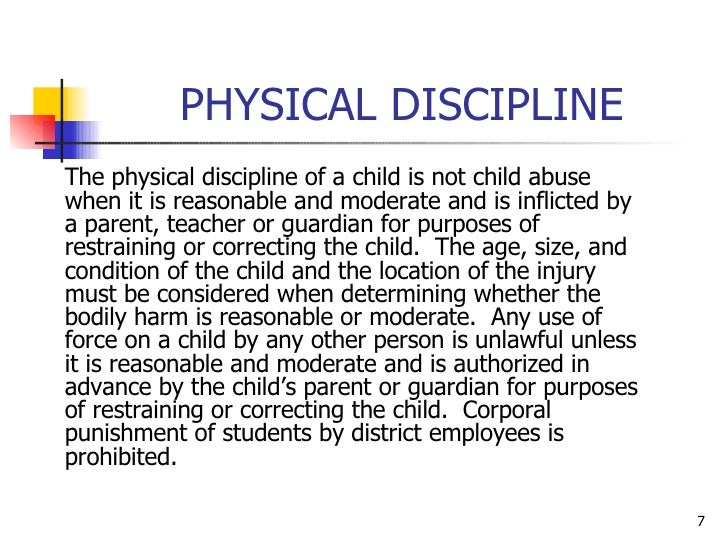when discipline is considered child abuse When actual child abuse is confused with discipline when does discipline become child abuse child to an extent should be considered abuse.