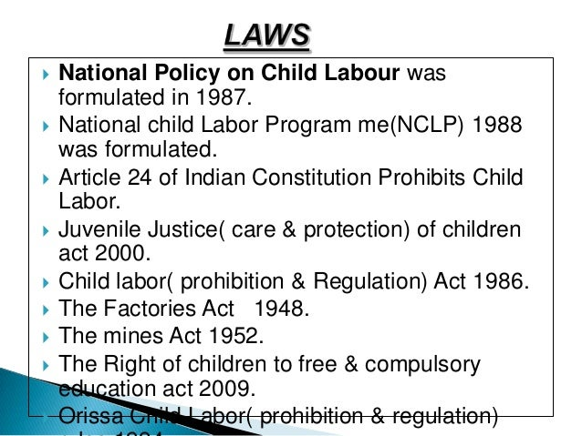 Custom article writing about child labour