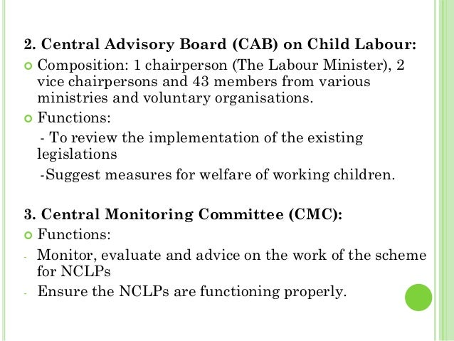 central advisory board of education