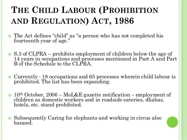 Child labour in the world today essays