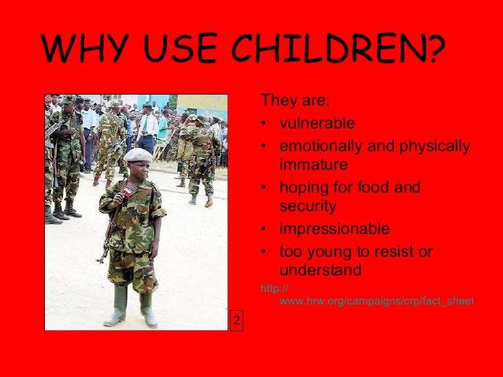 child soldiers in africa research paper