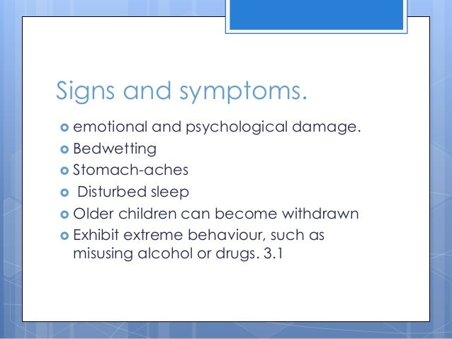 Signs Of Emotional Exploit In Adults