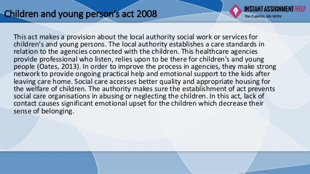 children and young person act 2008