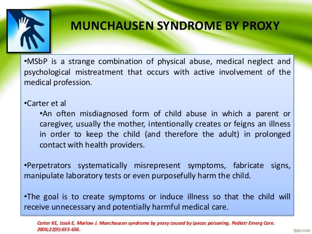 monsters in the closet munchausen syndrome by proxy
