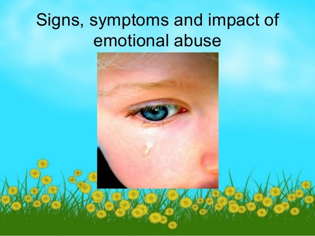 child abuse and the impact on How does parental drug abuse affect children  negative emotional impact is a reality  while the child who grows up in a home with a substance abusing parent.