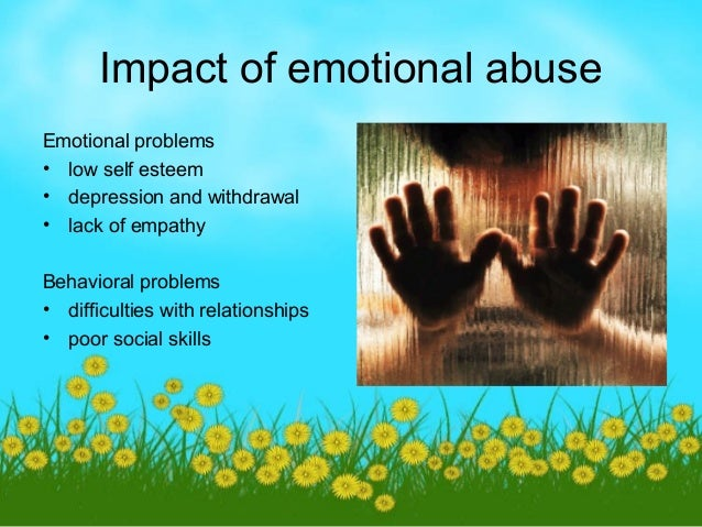 the effect of child abuse and 2014-07-23 click to enlarge (source: pat levitt, 2009) hundreds of thousands of children suffer from neglect, abuse and trauma during their early years many of the psychological.