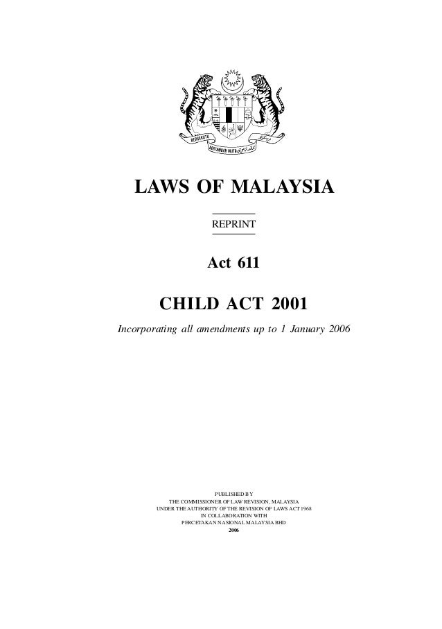 child act The centre for child law is based in the law faculty at the university of pretoria, south africa.