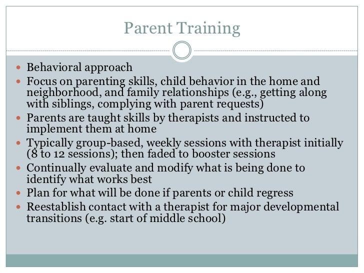 Parenting Skills Essays