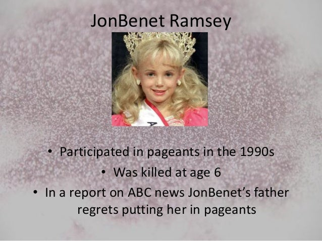 Child beauty pageants opinion essay