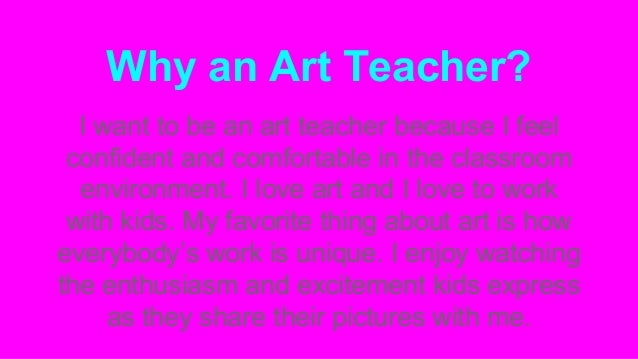 can art be taught essay The art of the personal essay: prior to sweet briar, she taught writing for two years at columbia the art of revision.