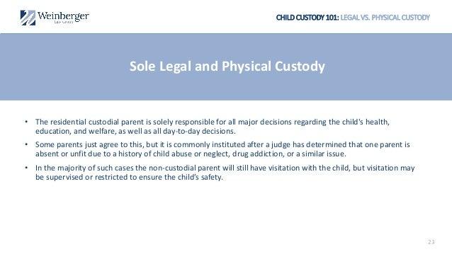 Child Custody 101 An Introduction To New Jersey Child Custody