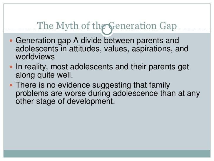Generation gap a myth or reality