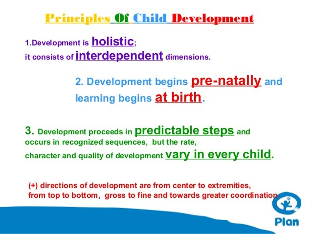basic principles of child development