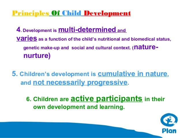 basic principles of child development