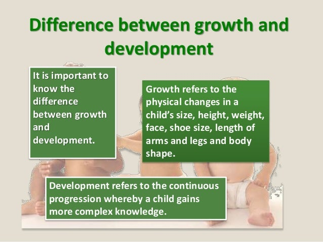 sequence development and rate of development and why the difference is important Explain the difference between sequence of development and rate of development and why the difference is important assessment criteria 121.