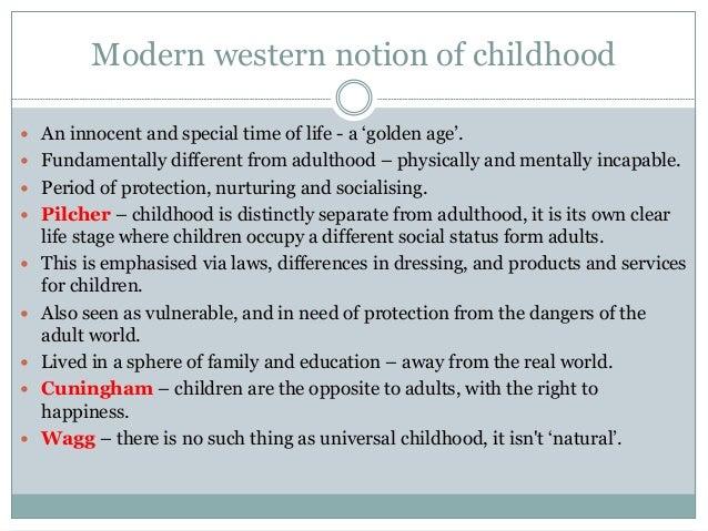 AQA AS Sociology - Childhood: A Social Construct  Slide 3