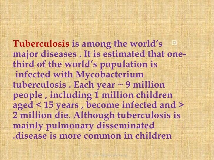 Childhood Tuberculosis Slide 3