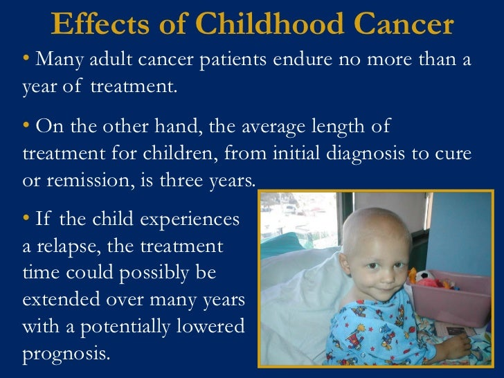 research paper psychological impact childhood cancer And effects of cancer treatment in children, describe several special  considerations, and  a report from the childhood cancer survivor study.