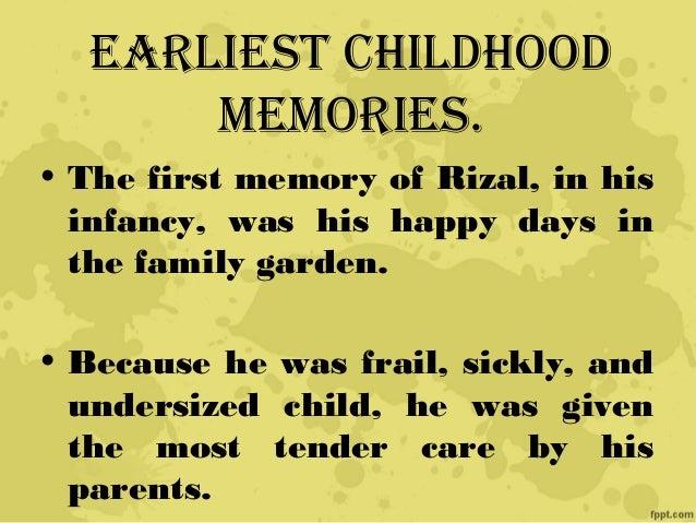 essays on childhood memories