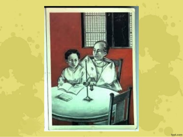 early childhood of rizal