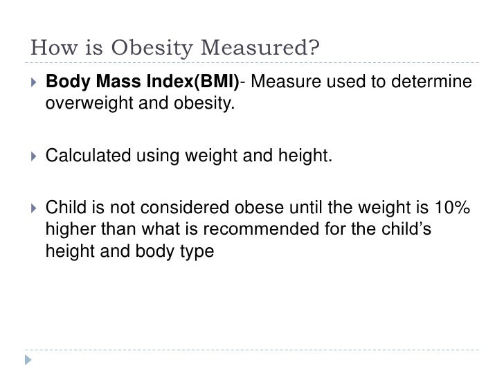 Free research paper on childhood obesity