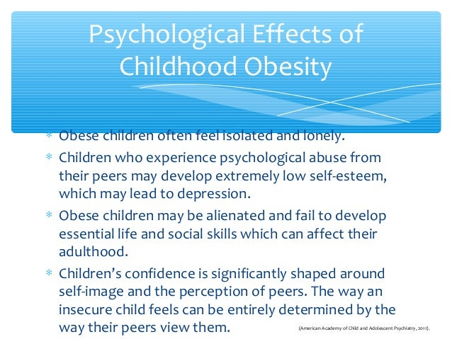 adverse effects of childhood obesity a 27052018 obesity now affects one in five children in the united states discrimination against overweight children begins early in childhood and becomes.