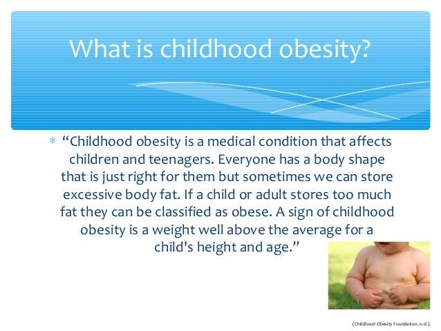 SDS220R - Childhood Obesity