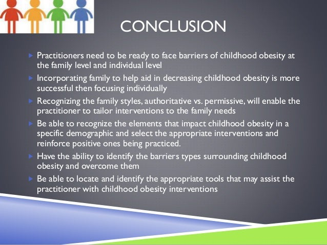 Conclusion for child obesity essay