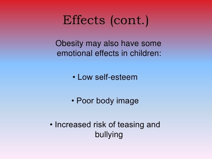 Psychological consequences of childhood obesity: psychiatric comorbidity and prevention