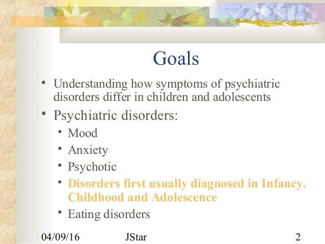 Childhood psychiatry disorders Slide 2