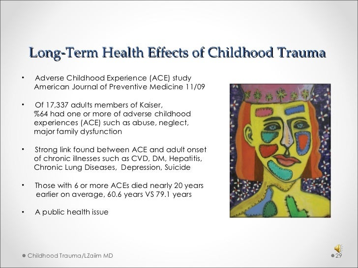 Childhood Trauma : Long-Term Effects and Symptoms