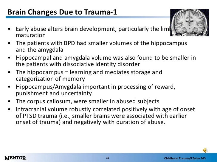 a discussion on the negative impact of trauma on children The problem: impact 2 traumatic experiences can impact learning, behavior and relationships at school recent neurobiological, epigenetics, and psychological studies have shown that traumatic experiences in childhood can diminish concentration, memory, and the organizational and language abilities children need to.
