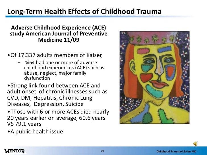 childhood trauma presentationtrauma lzaiim md; 29
