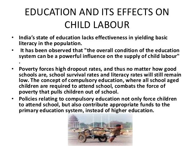 short essay on child labour