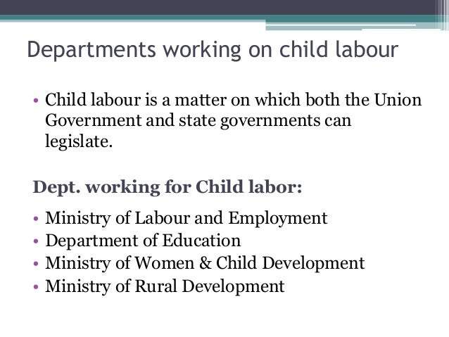 the effects of child labor on the development of a child Page 208 6 consequences of child abuse and neglect the consequences of maltreatment can be devastating for over 30 years, clinicians have described the effects of child abuse and neglect on the physical, psychological, cognitive, and behavioral development of children.
