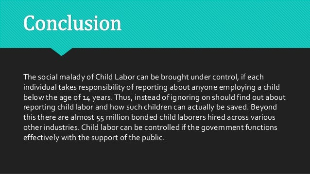 What is child labor?