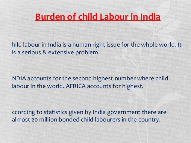 THE CHILD LABOUR ACT, 1986