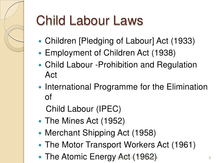 Help, what is a good thesis statement for child labor?