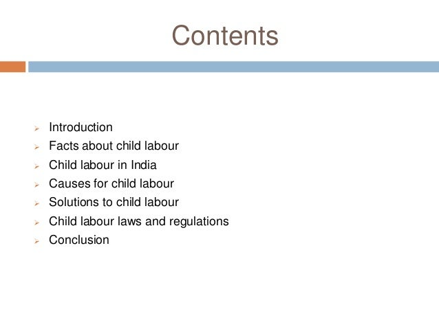 child labour essay essay 2 contents  introduction  facts about child labour