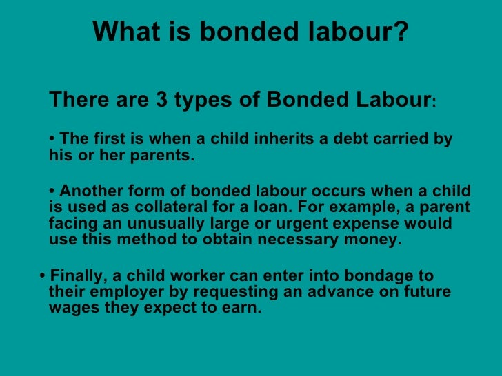 bonded labour View bonded labour research papers on academiaedu for free.