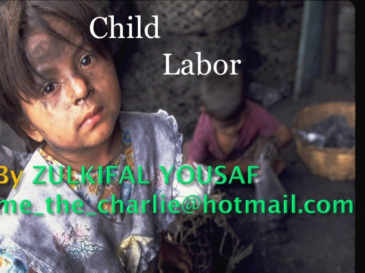 how child labor affects a child According to nso survey, in the year 2011 the population of child labor grew up to 3 million compared in the year 2001 that has 24 million population of child labor 25% of the population are doing hazardous jobs that can harm them.